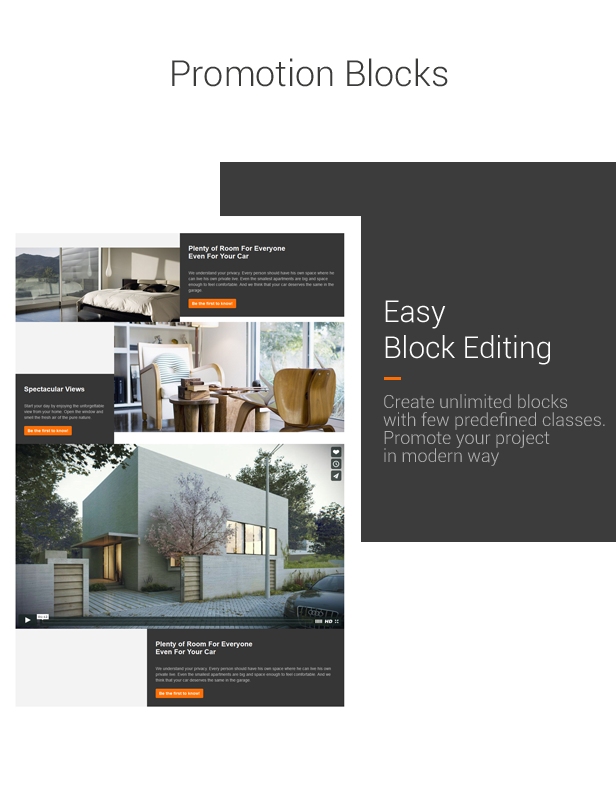 Condio - Real Estate One Page & Landing Page HTML