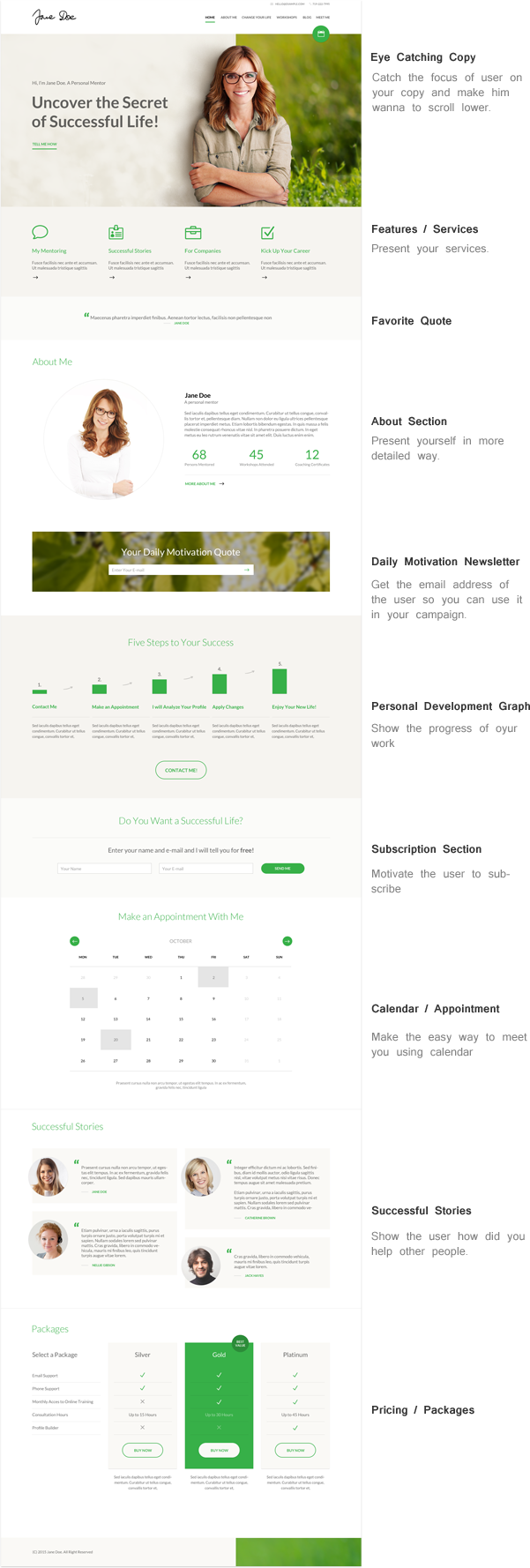 Mentor - Personal Development Coach HTML Template